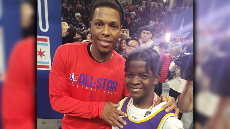 St. Jude patients attends NBA All-Star Weekend