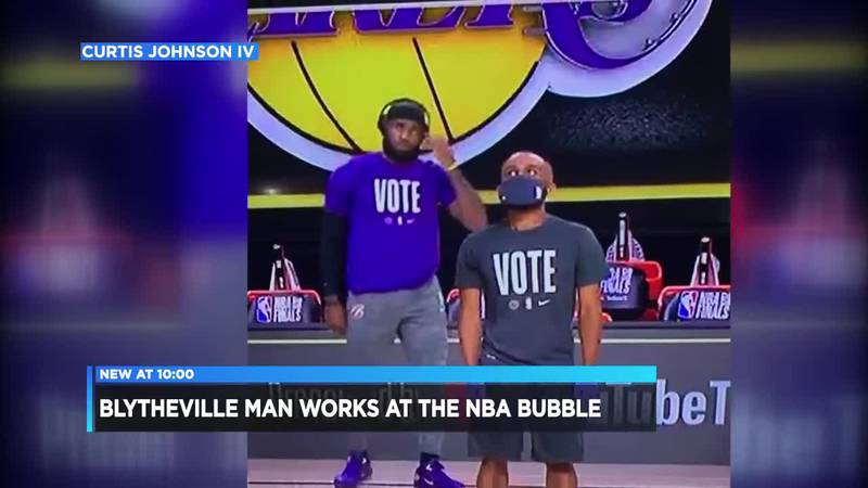 Blytheville man details his experience working the 2020 NBA Bubble