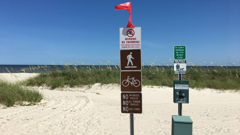 Hancock County supervisors recently adopted new rules for beach signs and flags to warn...