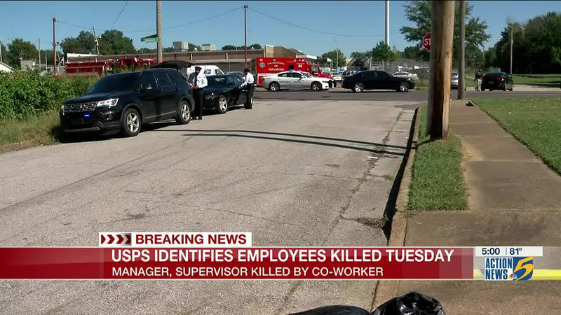 Victims, shooter identified in double murder-suicide at Memphis postal facility