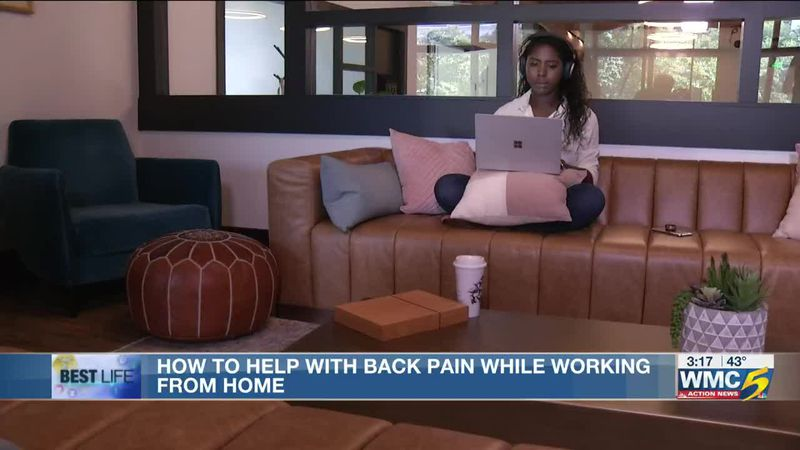 Best Life: How to help with back pain while working from home