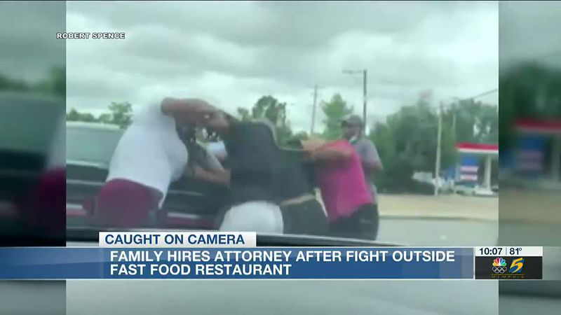 Family hires attorney after fight outside fast food restaurant in Memphis