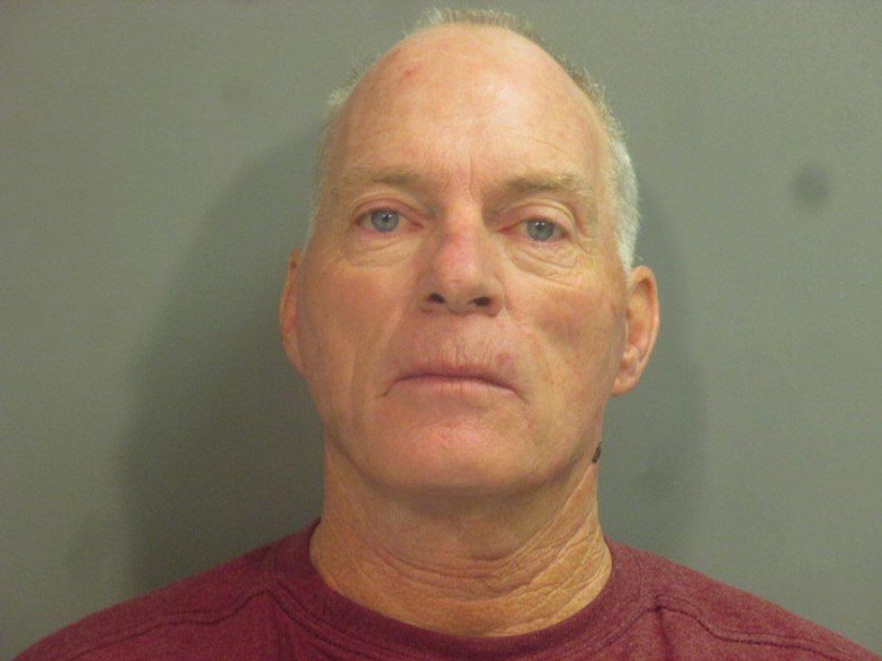 Richard Barnett, an Arkansas man photographed in House Speaker Nancy Pelosi's office during the...