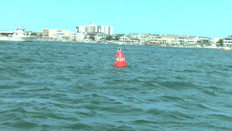 Last week, a boat struck the submerged piling in Banks Channel and one passenger was ejected...