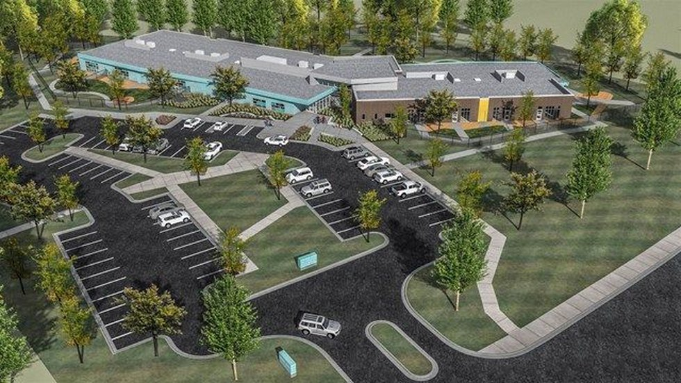 A rendering of what Early Childhood Academy will look like. (Source: Porter-Leath)