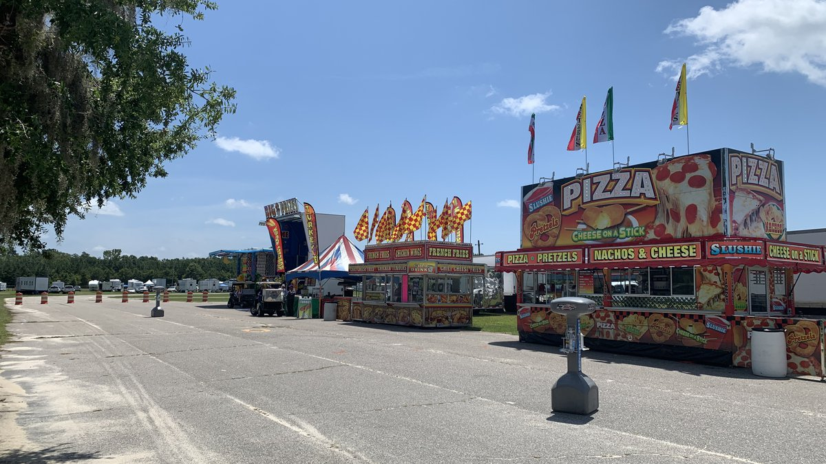 Amusements of America adapts their business model and opens their fair food trucks to the public