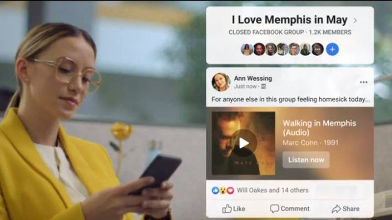 The new Facebook ad is all about love for Memphis. (Source: Facebook/YouTube)