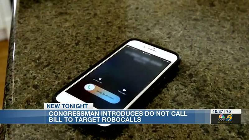 Tennessee congressman introduces 'do not call' bill to target robocalls
