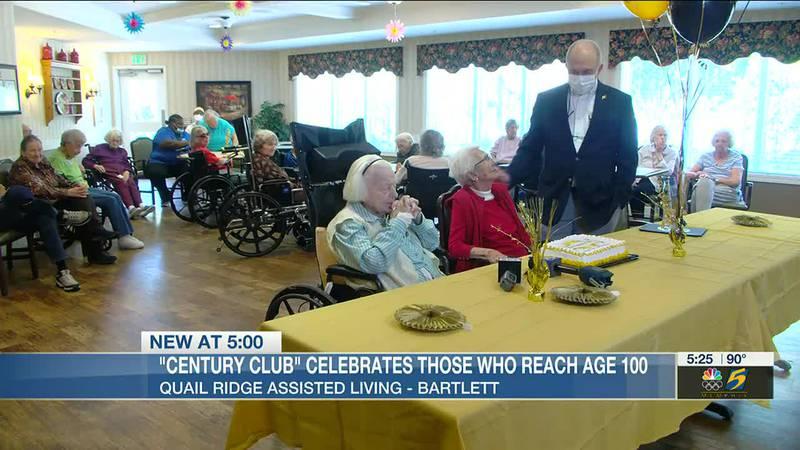 'Century Club' celebrates those who reach age 100
