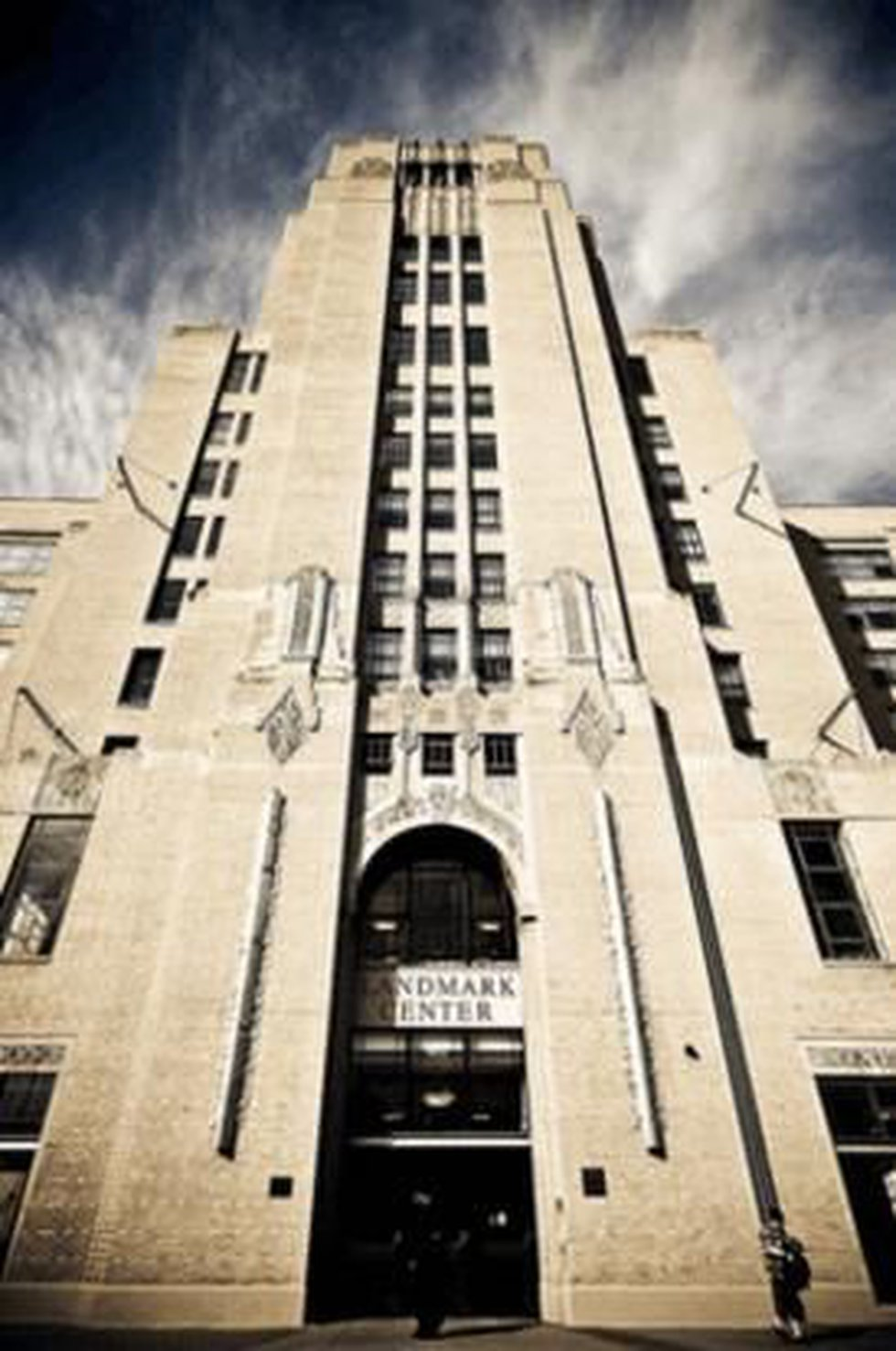 The Landmark Center in Boston, Massachusetts is now a commercial center. (Photo Source: Jk...