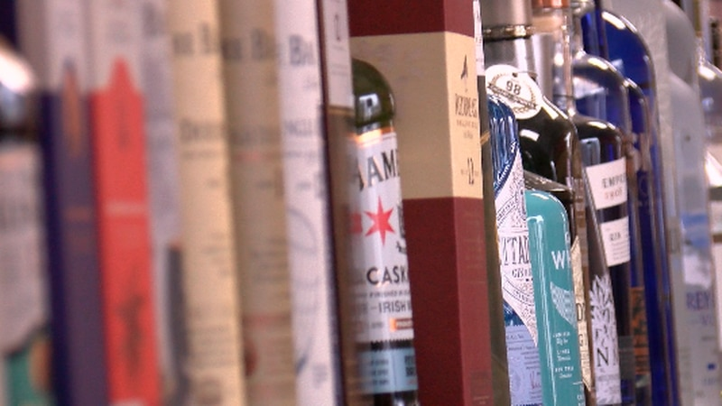 Are liquor store sales up on NYE?