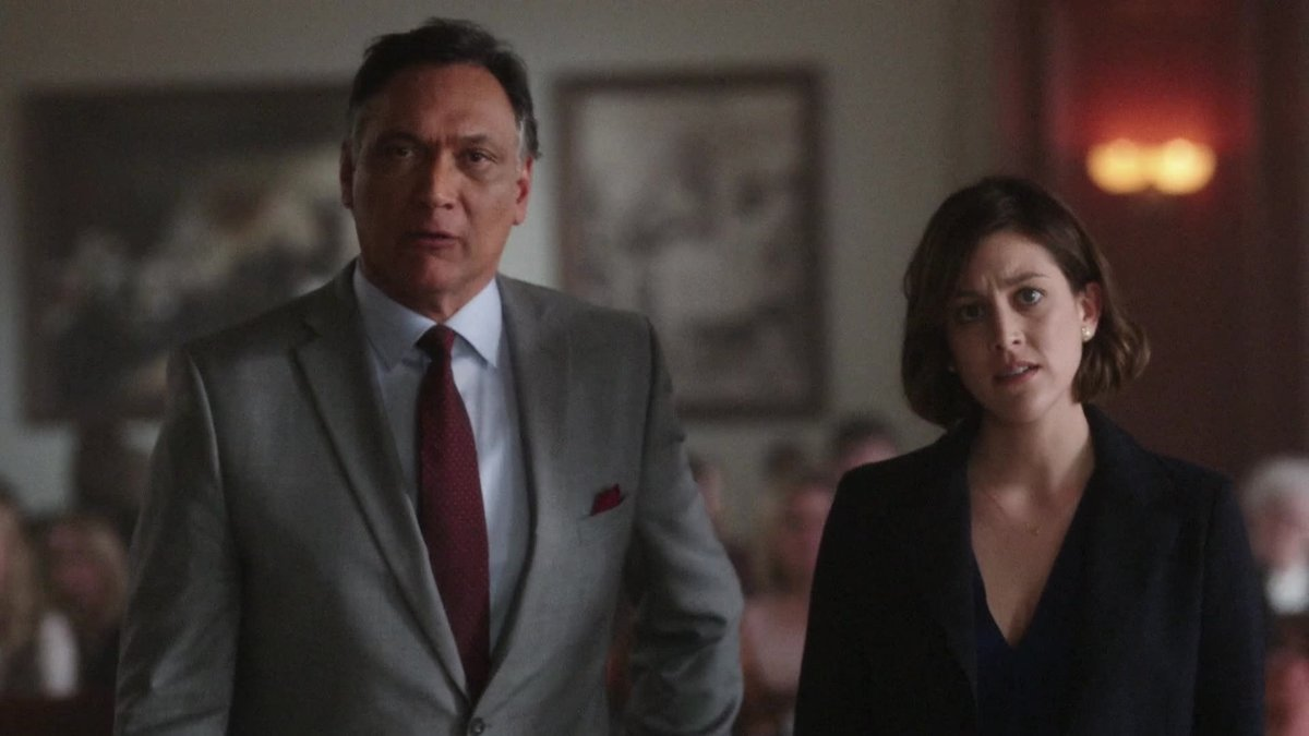 Jimmy Smits and Caitlin McGee star in Bluff City Law (Source: NBC)