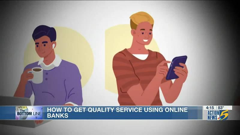 Bottom Line: potential problems online banks
