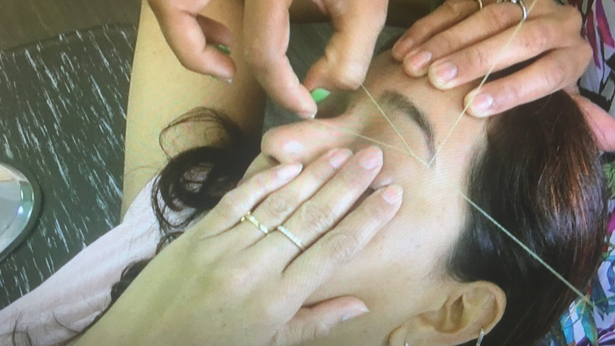 Eyebrow threading is the ancient practice of using a cotton thread to remove hair from its...
