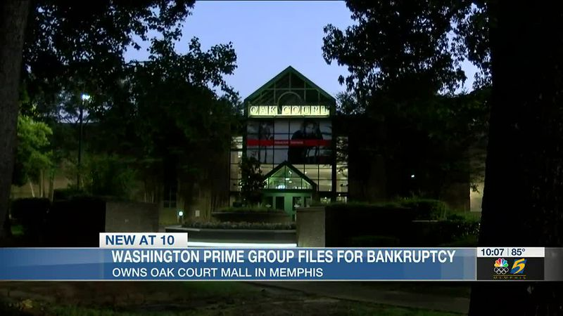 Owner of Oak Court Mall in Memphis files for bankruptcy