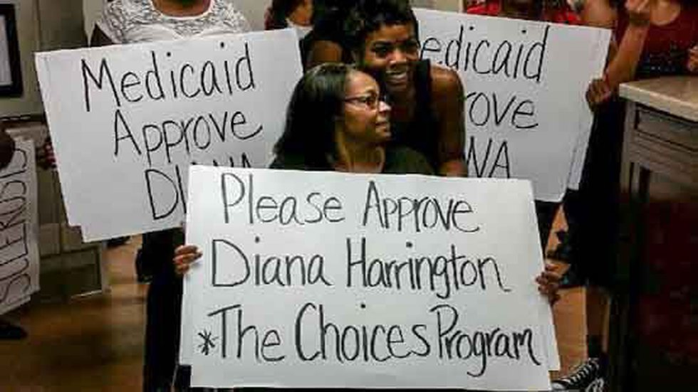 While waiting for approval for The Choice Program, Harrington was recently dropped from...