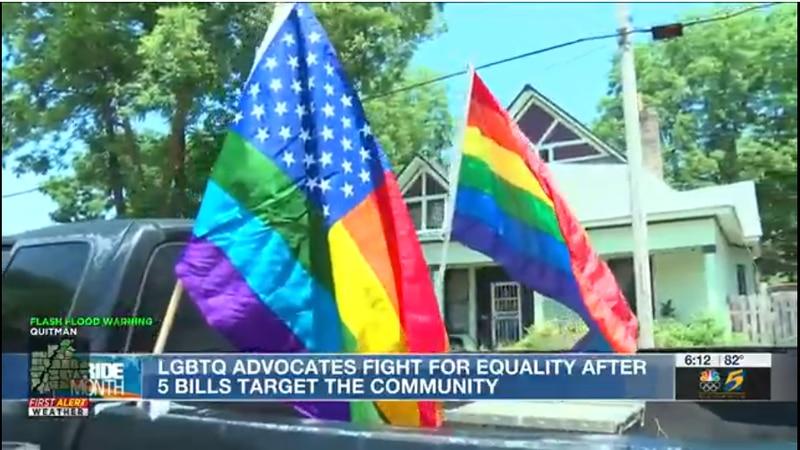 LGBTQ advocates fight legislation