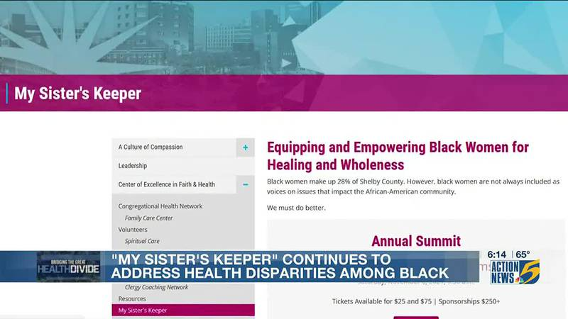 'My Sister's Keeper' continues to address health disparities among black women