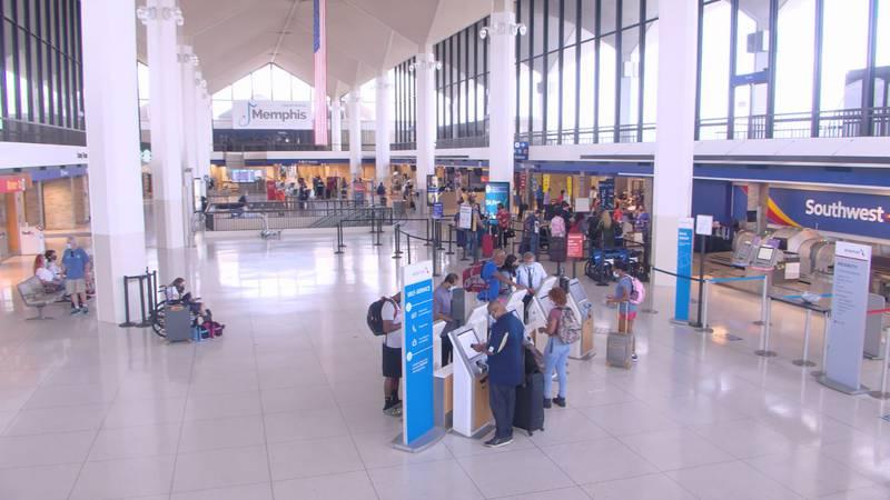 Memphis Intl. Airport Lobby