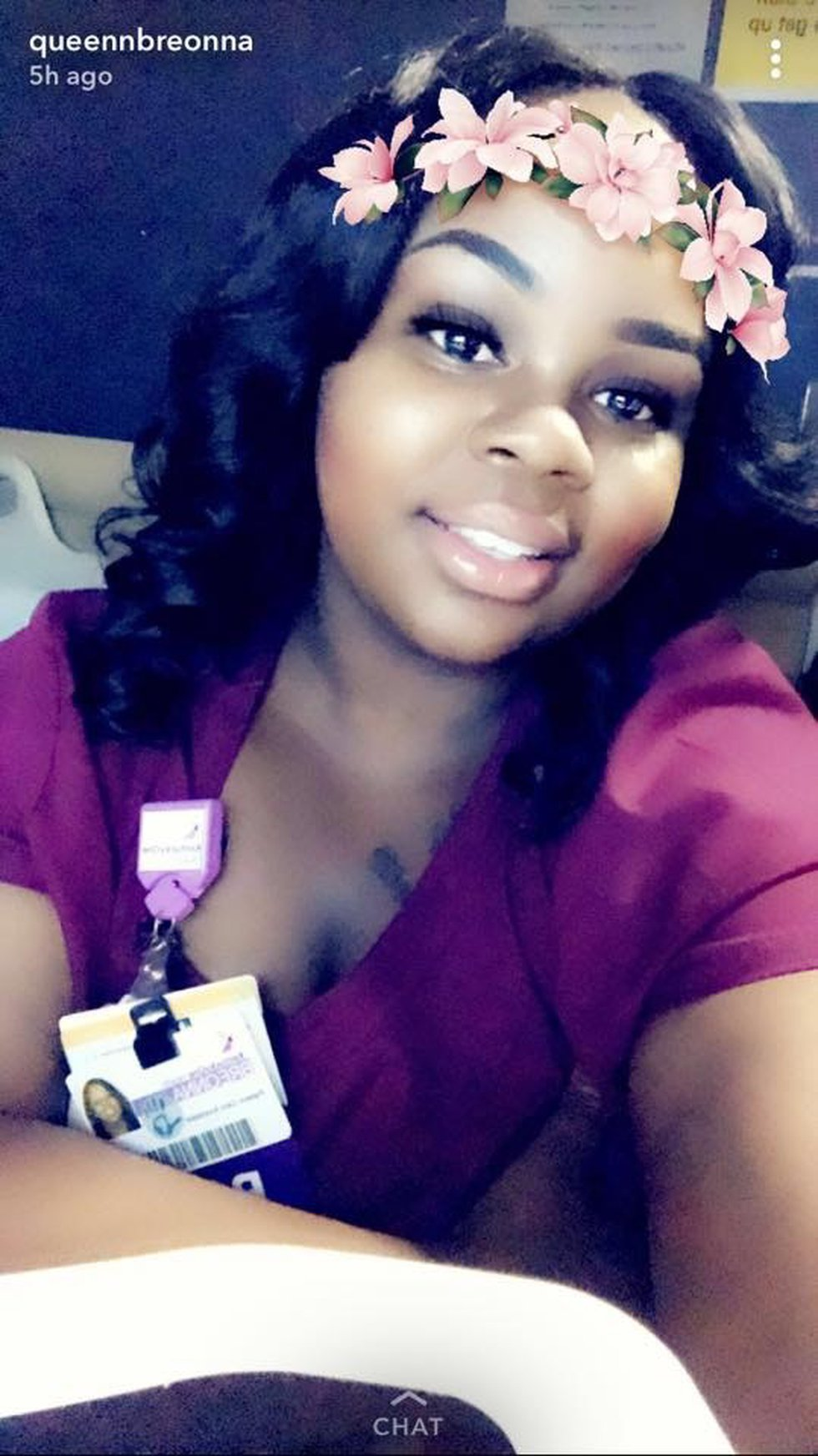 Breonna Taylor was an EMT working at two hospitals when she was shot and killed in March.