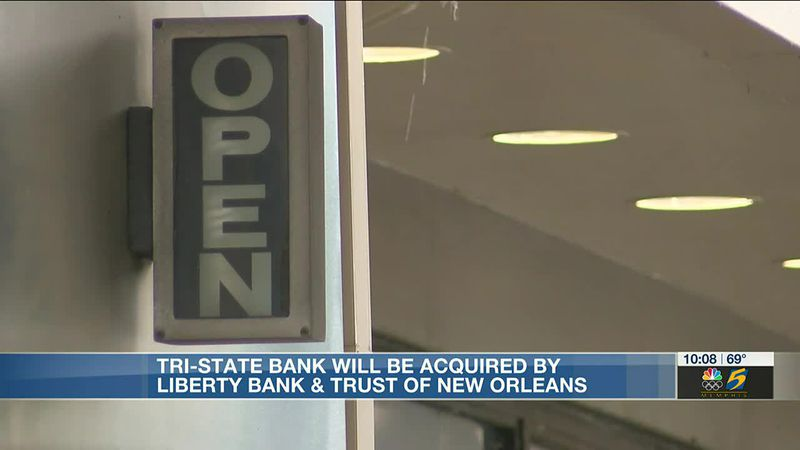 Tri-State Bank of Memphis to be acquired by Liberty Bank & Trust of New Orleans